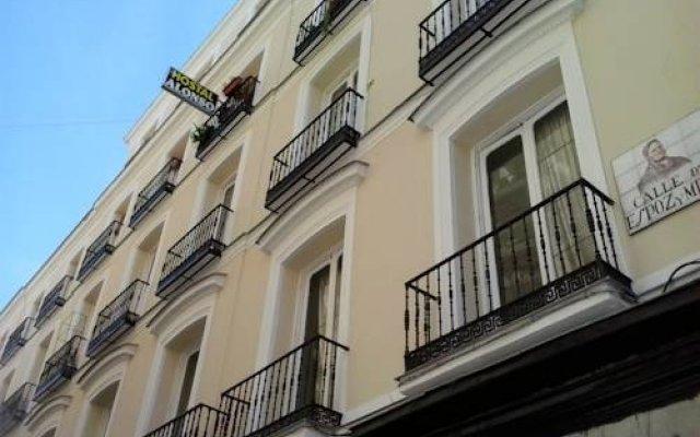 Отель Hostal Alonso вид на фасад