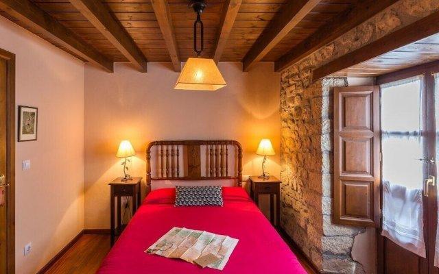 Отель Casa Rural Pandesiertos Кангас-де-Онис комната для гостей