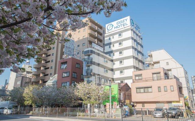Отель Asakusa Cozy Hotel Япония, Токио - отзывы, цены и фото номеров - забронировать отель Asakusa Cozy Hotel онлайн вид на фасад