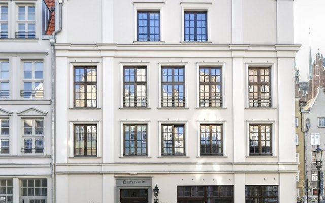 Отель Sweet Suite Apart вид на фасад