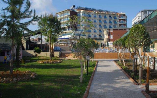 Akin Paradise Hotel вид на фасад