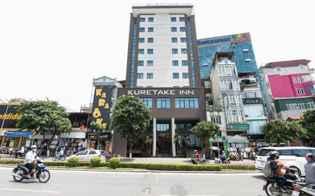 Отель Kuretake Inn Kim Ma 132 Ханой вид на фасад
