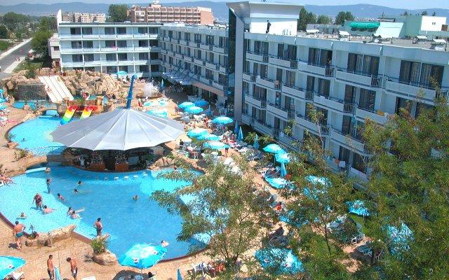 Отель Kotva Болгария, Солнечный берег - отзывы, цены и фото номеров - забронировать отель Kotva онлайн вид на фасад