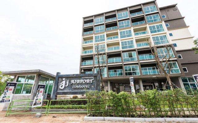 Отель JJAirportHotelCondominium For Rent 2 Таиланд, пляж Май Кхао - отзывы, цены и фото номеров - забронировать отель JJAirportHotelCondominium For Rent 2 онлайн вид на фасад