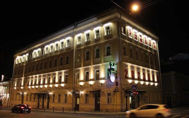 Гостиница Landmark Guesthouse вид на фасад