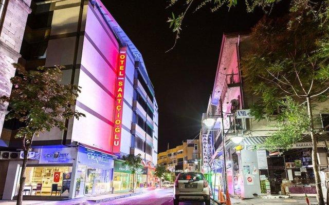 Grand Saatcioglu Hotel Турция, Аксарай - отзывы, цены и фото номеров - забронировать отель Grand Saatcioglu Hotel онлайн вид на фасад