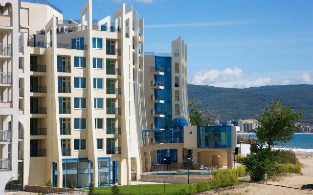 Отель Blue Pearl Hotel- Ultra All Inclusive Болгария, Солнечный берег - отзывы, цены и фото номеров - забронировать отель Blue Pearl Hotel- Ultra All Inclusive онлайн вид на фасад
