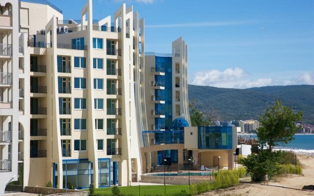 Отель Mpm Blue Pearl Солнечный берег вид на фасад