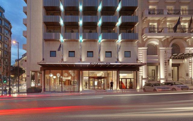 Отель NJV Athens Plaza Hotel Греция, Афины - 1 отзыв об отеле, цены и фото номеров - забронировать отель NJV Athens Plaza Hotel онлайн вид на фасад
