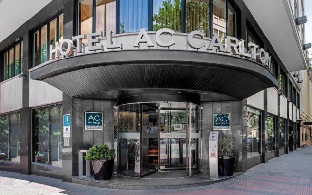AC Hotel Carlton Madrid by Marriott вид на фасад