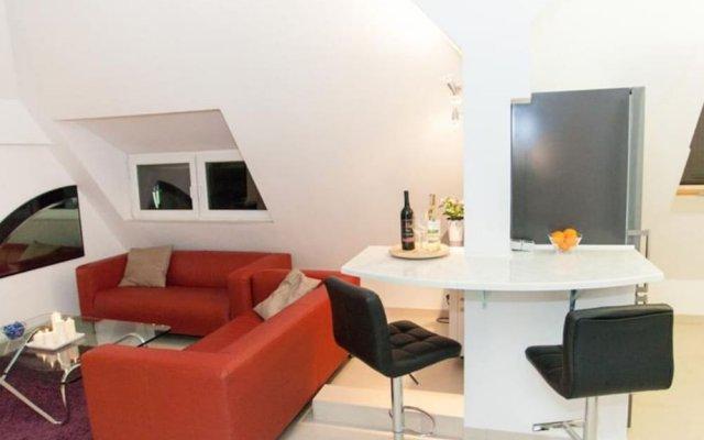 Апартаменты Studio Apartament Centrum Katowice комната для гостей