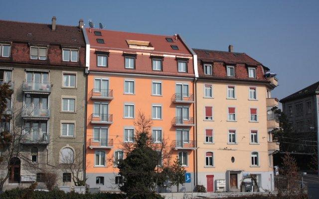 Отель Swiss Star Northend вид на фасад