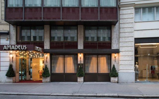 Hotel Amadeus вид на фасад