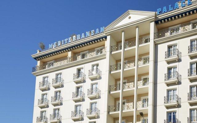 Отель Mediterranean Palace Салоники вид на фасад
