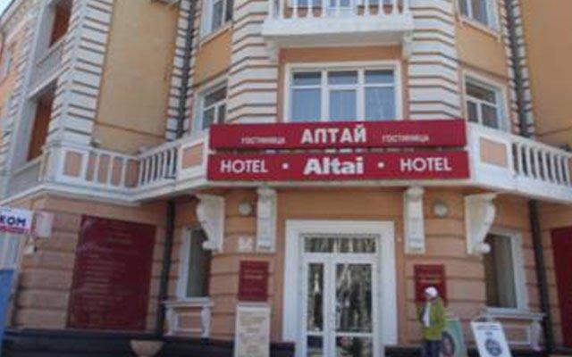 Гостиница Алтай в Барнауле отзывы, цены и фото номеров - забронировать гостиницу Алтай онлайн Барнаул вид на фасад