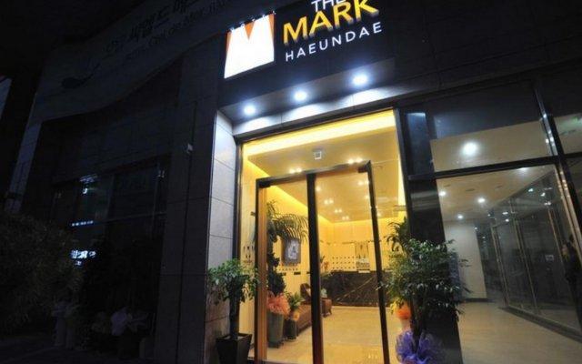 Hotel The Mark Haeundae вид на фасад