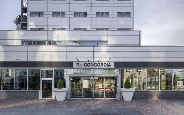 Отель NH Milano Concordia вид на фасад