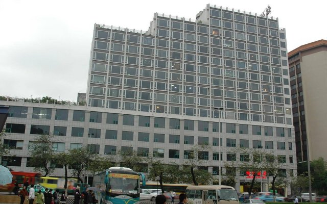 Guangzhou Jinzhou Hotel вид на фасад