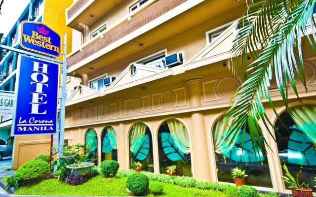 Отель Best Western Hotel La Corona Manila Филиппины, Манила - 2 отзыва об отеле, цены и фото номеров - забронировать отель Best Western Hotel La Corona Manila онлайн вид на фасад