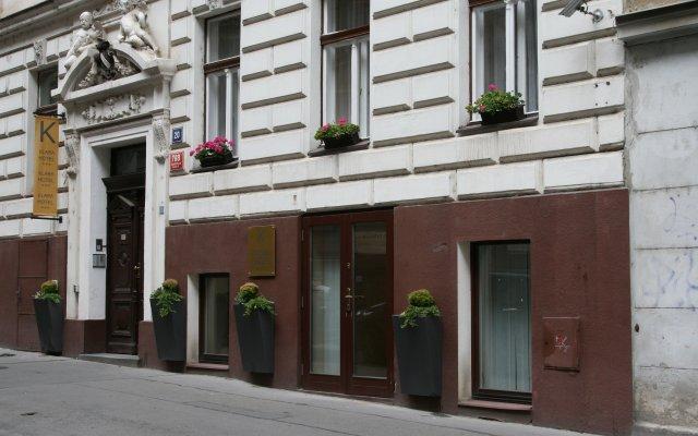 Отель Klara Чехия, Прага - 10 отзывов об отеле, цены и фото номеров - забронировать отель Klara онлайн вид на фасад