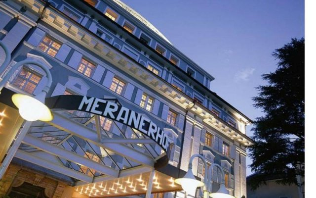Classic Hotel Meranerhof Меран вид на фасад