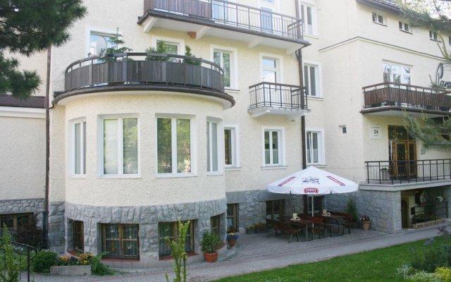 Отель Willa Paradis Górskie Zacisze вид на фасад