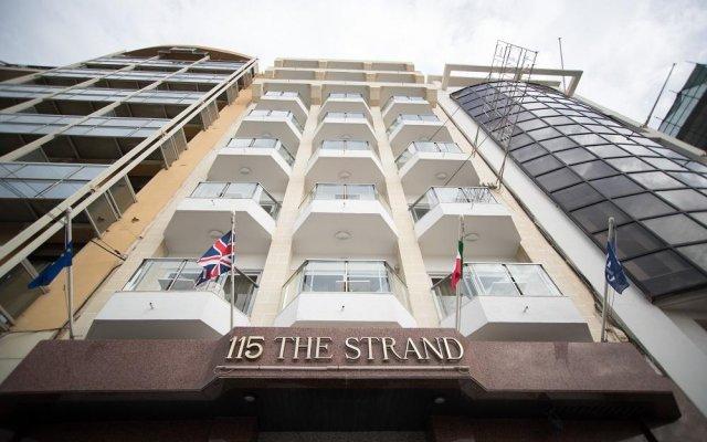 Отель 115 The Strand Aparthotel Мальта, Гзира - отзывы, цены и фото номеров - забронировать отель 115 The Strand Aparthotel онлайн вид на фасад