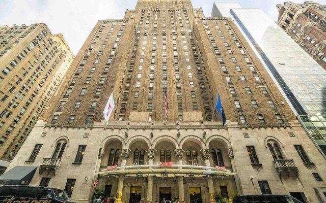 Отель New York Marriott East Side США, Нью-Йорк - отзывы, цены и фото номеров - забронировать отель New York Marriott East Side онлайн вид на фасад
