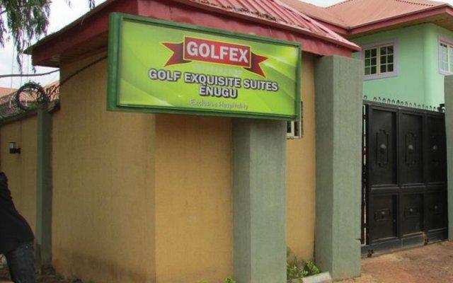 Отель Golf Exquisite Hotel Нигерия, Энугу - отзывы, цены и фото номеров - забронировать отель Golf Exquisite Hotel онлайн вид на фасад