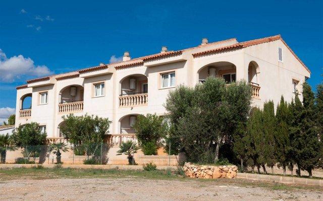 Отель Apartamentos Sol Romantica вид на фасад
