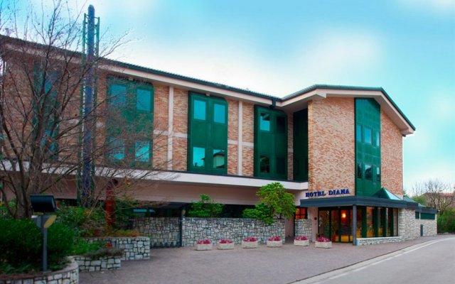 Отель Diana Италия, Вальдоббьадене - отзывы, цены и фото номеров - забронировать отель Diana онлайн вид на фасад