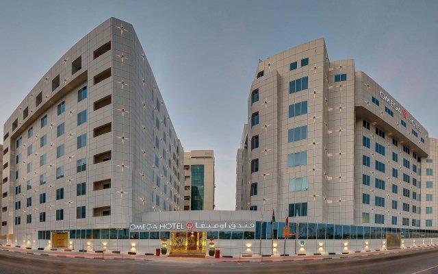 Отель Omega Hotel ОАЭ, Дубай - отзывы, цены и фото номеров - забронировать отель Omega Hotel онлайн вид на фасад
