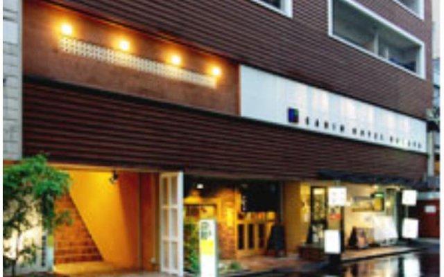 Cabin Hotel Hakata Хаката вид на фасад
