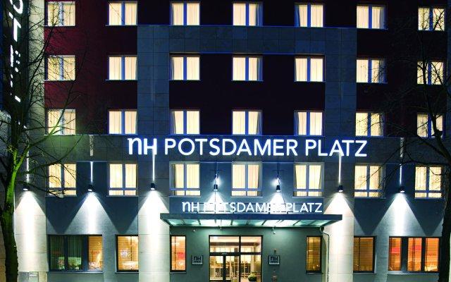 Отель NH Berlin Potsdamer Platz Германия, Берлин - 1 отзыв об отеле, цены и фото номеров - забронировать отель NH Berlin Potsdamer Platz онлайн вид на фасад