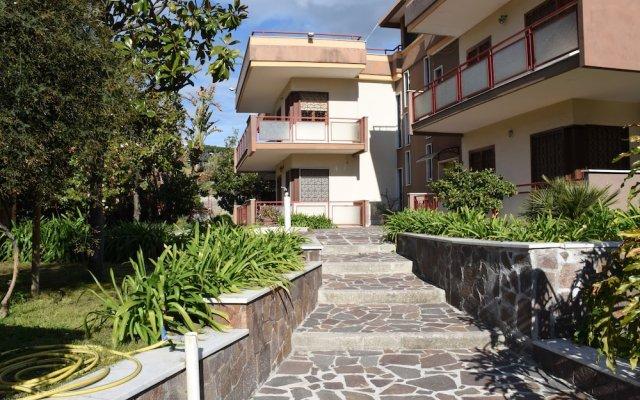 Отель B&B La Ginestra Торре-дель-Греко вид на фасад