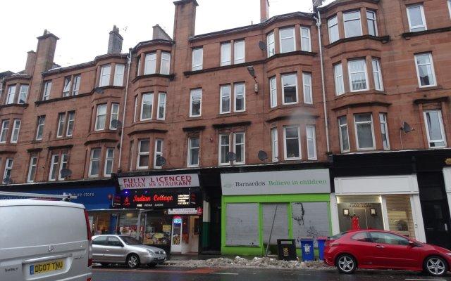 Апартаменты CDP Apartments Kelvinhall Глазго вид на фасад