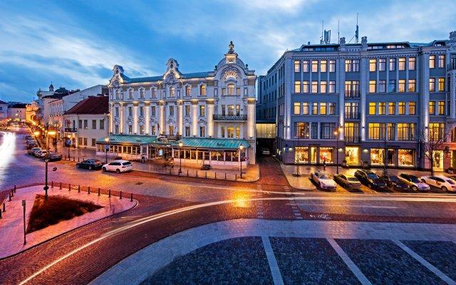 Radisson Blu Royal Astorija Hotel Вильнюс вид на фасад