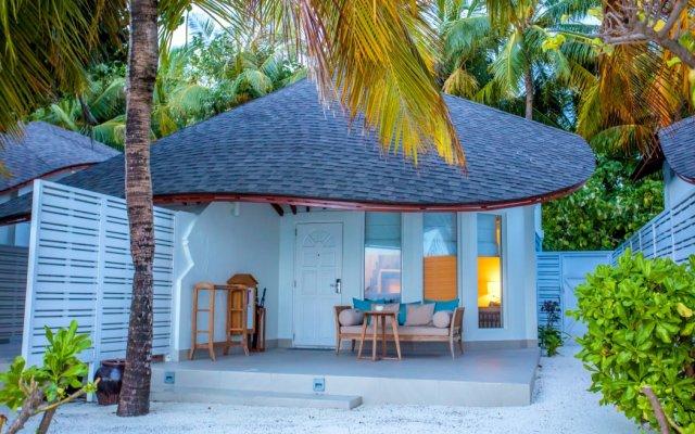 Отель Centara Grand Island Resort & Spa Maldives All Inclusive вид на фасад