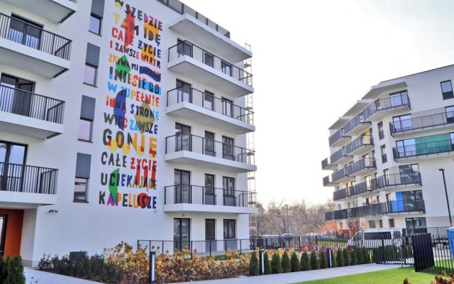 Отель ClickTheFlat Artistic Estate Apartment Польша, Варшава - отзывы, цены и фото номеров - забронировать отель ClickTheFlat Artistic Estate Apartment онлайн вид на фасад
