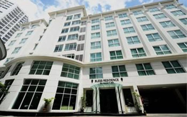 Отель Bless Residence Бангкок вид на фасад