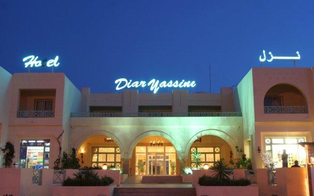 Отель Diar Yassine Тунис, Мидун - отзывы, цены и фото номеров - забронировать отель Diar Yassine онлайн вид на фасад