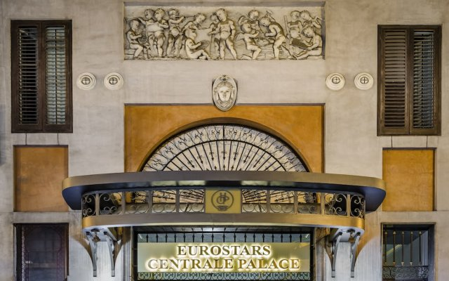 Отель Eurostars Centrale Palace вид на фасад