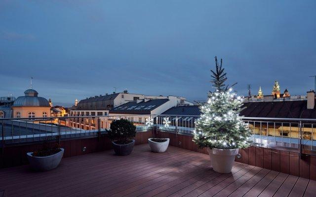 Отель Aparthotel Best Views Luxury Польша, Краков - отзывы, цены и фото номеров - забронировать отель Aparthotel Best Views Luxury онлайн вид на фасад