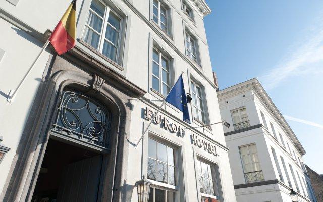 Отель Europ Hotel Бельгия, Брюгге - 2 отзыва об отеле, цены и фото номеров - забронировать отель Europ Hotel онлайн вид на фасад