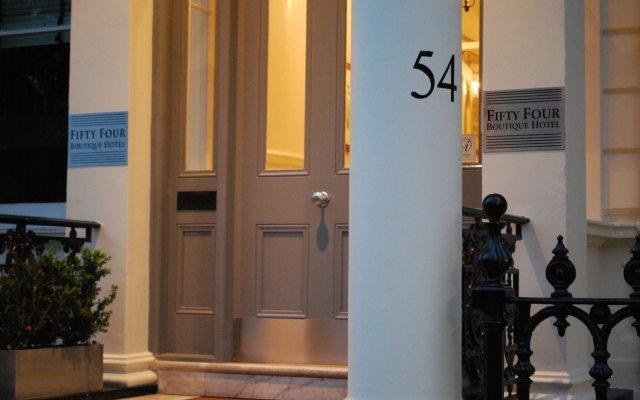 54 Queens Gate Hotel вид на фасад