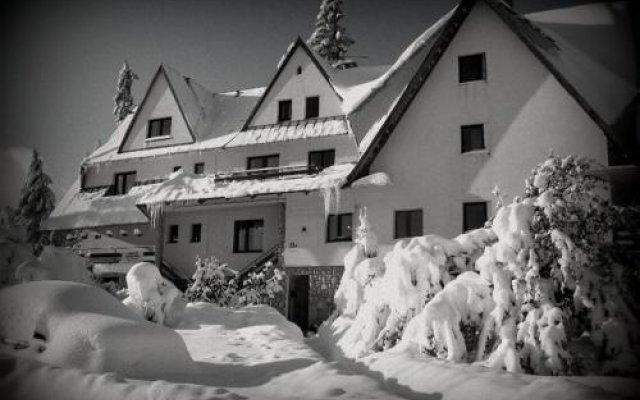Отель Willa Pod Kopiencem Закопане вид на фасад