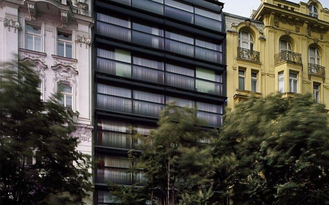 Отель Design Metropol Прага вид на фасад