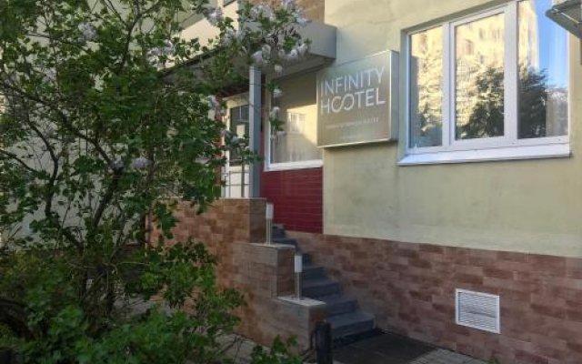 Отель Жилые помещения Infinity Уфа вид на фасад