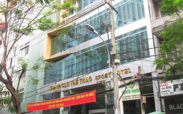 Sport Hotel вид на фасад
