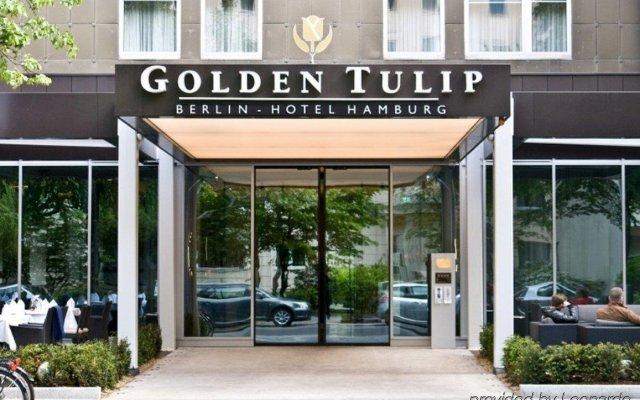 Golden Tulip Berlin Hotel Hamburg вид на фасад